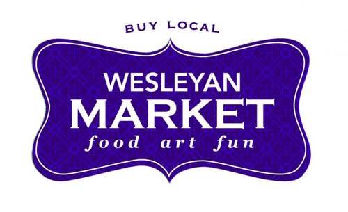 Wesleyan Market Buy Local logo