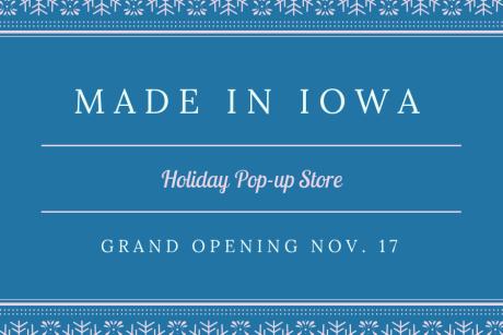 Made In Iowa Grand Opening