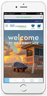 Image of cell phone with the Convention and Visitors Bureau app displayed on the screen.