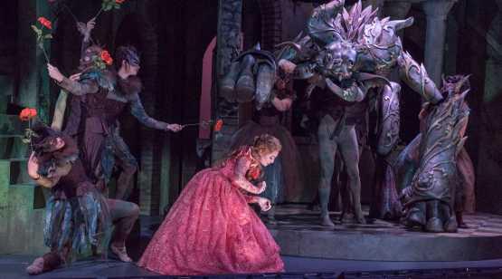 Opera Saratoga Girl with Dragon