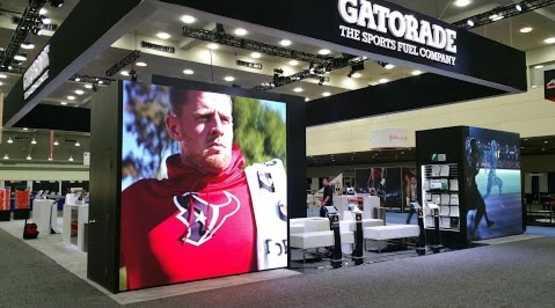 Gatorade Booth