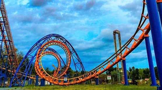 Great Escape Roller Coaster