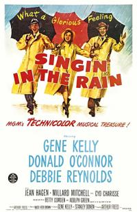Singin in the Rain PAC movie poster
