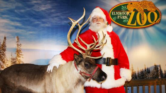 Elmwood Park Zoo Santa
