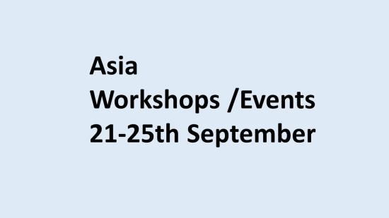 Asia workshop blue background 2020