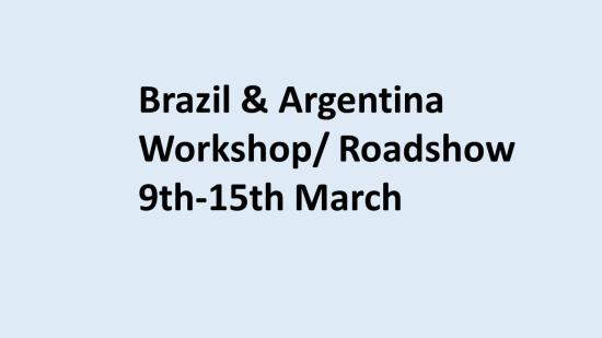 Brazil blue background workshop2020