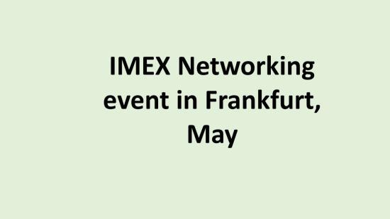 DE IMEX Event