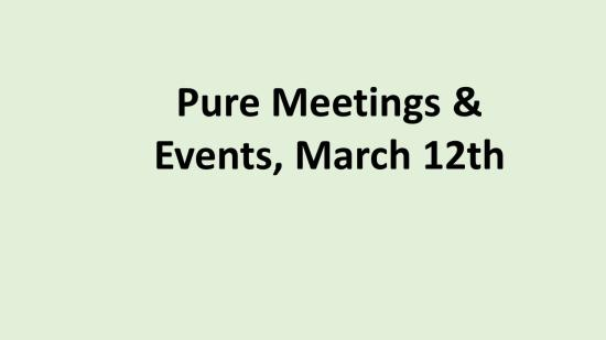 FR Meeting Pure Events