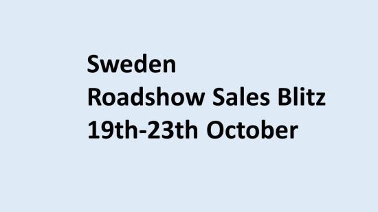 Sweden Sales Blitz 2020