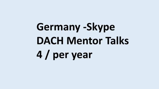 Mentor talks Germany 2020