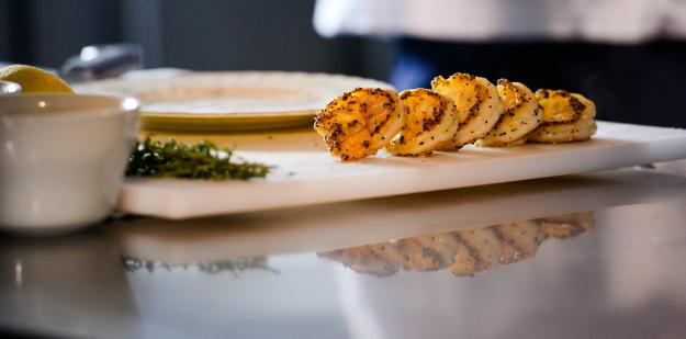 1910 in Lake Charles  Grilled Shrimp Prepped