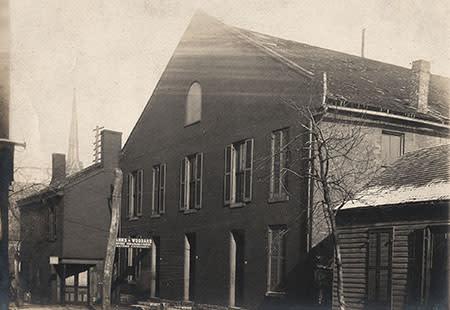 Ladies Hall at Methodist Church on Main street