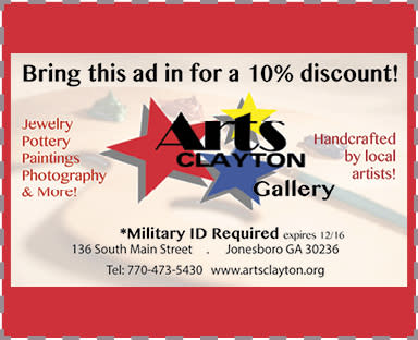 Arts Clayton Military Deal 2