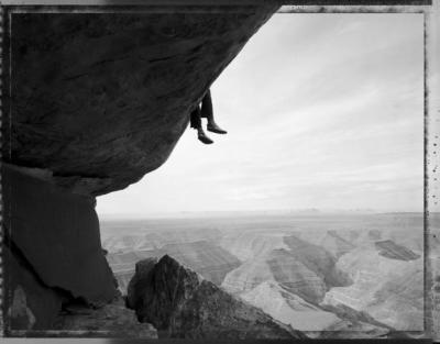 Matt Plett, Contemplating the Viewat Muley Point, UT