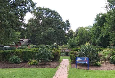 Herb Garden at Rochester Museum & Science Center