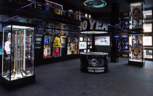 NHL Centennial Arena Museum Truck