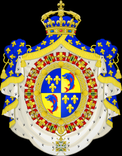Coat of Arms for Dauphin of France