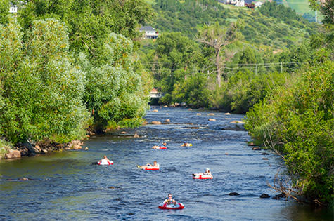 Tubing Steamboat Springs