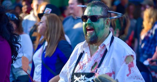 Zombie Walk Green Man
