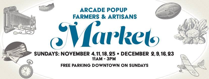 Arcade Farmers and Artisans Market banner