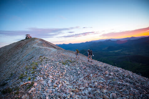 Hiking Hahns Peak