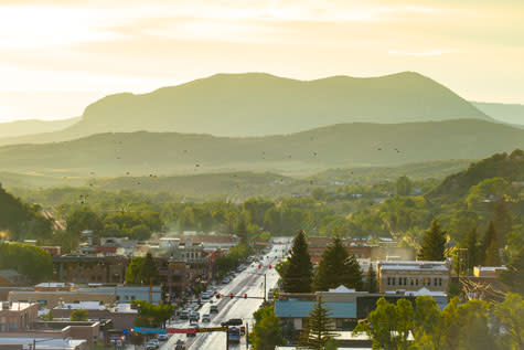 Scenic Downtown Steamboat Springs