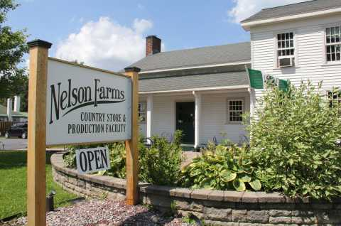 Nelson Farms Exterior Sign