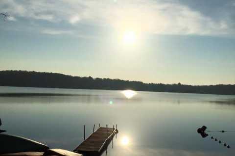 Shiloh Campground sunrise