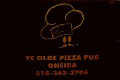 Ye Olde Pizza Pub logo