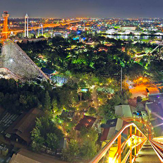 Six Flags Over Texas - Panorama