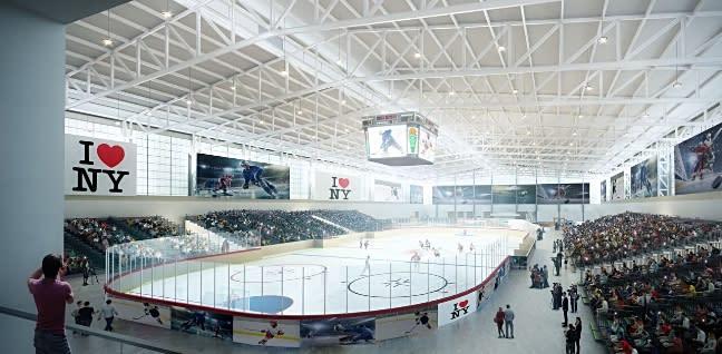 NY State Fair Ice Rink