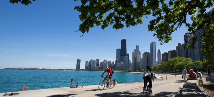 Lakefront Trail Chicago