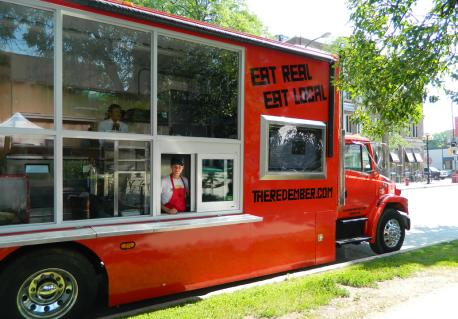 The Red Ember food truck. Photo via The Red Ember
