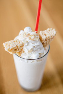 Marshmallow Crispy Treat at Cowfish