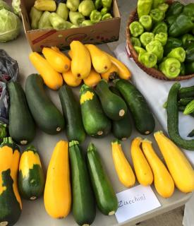 There's lots of delicious local food to be found at the Danville Farmers Market.