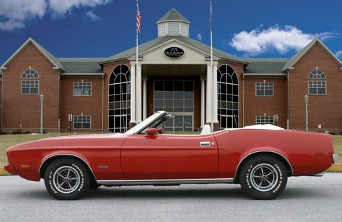 Mustang at AACA Museum