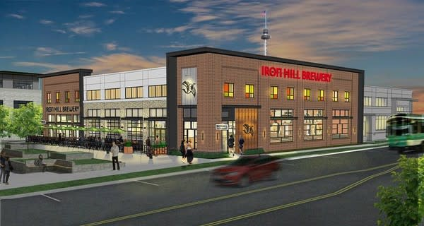 Iron Hill Brewery Rendering 2018