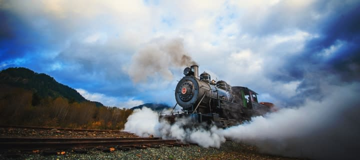 Mount Rainer Scenic Railroad + Museum Blog Post Header