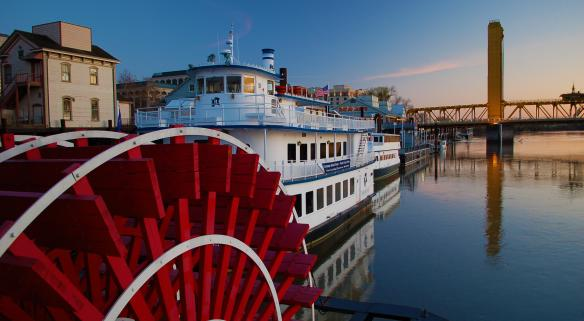 Delta King Paddlewheel