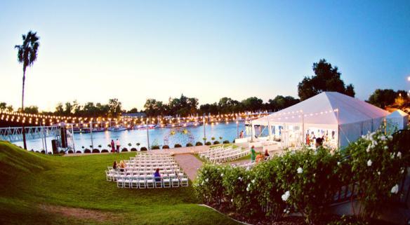 Portofino Tent with lights