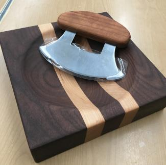 Ulu knife and cutting board at Gallery on the Square for holiday gift guide