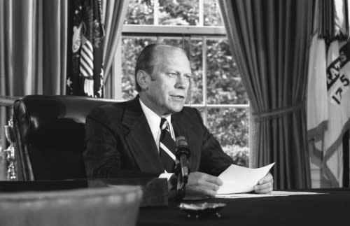 President Gerald R Ford