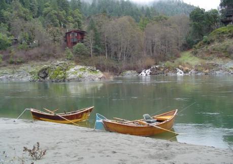 Sandy Bar Ranch Boats on Beach