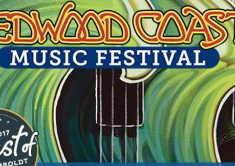 Redwood coast music festival for Redwood room live music schedule