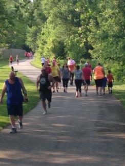 Hendricks county walkers and runners.