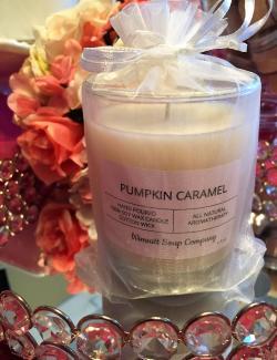 Wimsatt Soap Co pumpkin candle