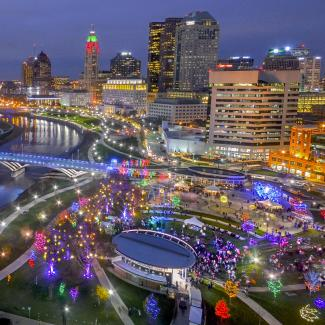 Scioto Mile Lights-square