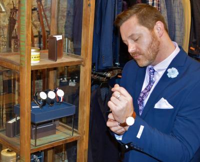 HIM Gentleman's Boutique Paul watches