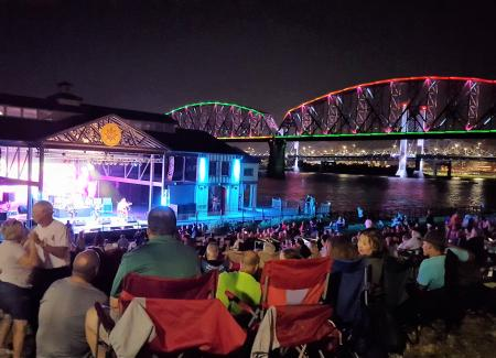 Jeffersonville Riverstage concert