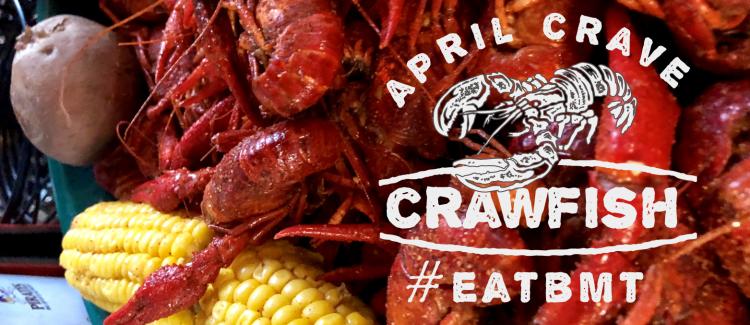 April Crave Crawfish Logo #EATBMT